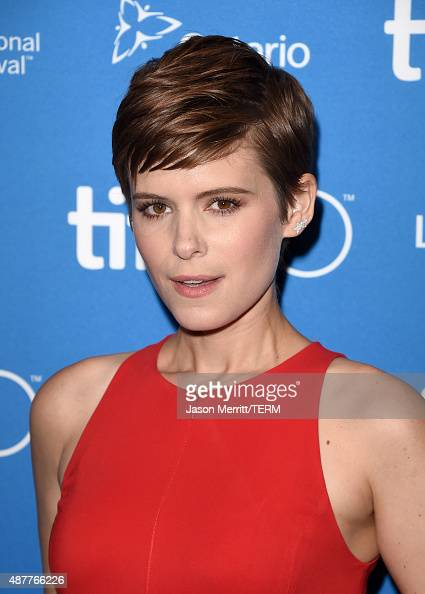Actress Kate Mara attends the 'The Martian' press conference at the 2015 Toronto International Film Festival at TIFF Bell Lightbox on September 11...
