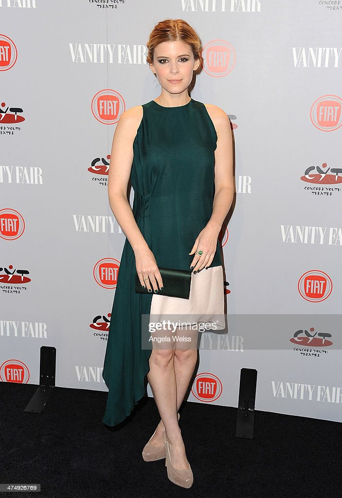 Actress <a gi-track='captionPersonalityLinkClicked' href=/galleries/search?phrase=Kate+Mara&family=editorial&specificpeople=544680 ng-click='$event.stopPropagation()'>Kate Mara</a> attends the Vanity Fair Campaign Hollywood 'Young Hollywood' party sponsored by Fiat at No Vacancy on February 25, 2014 in Los Angeles, California.