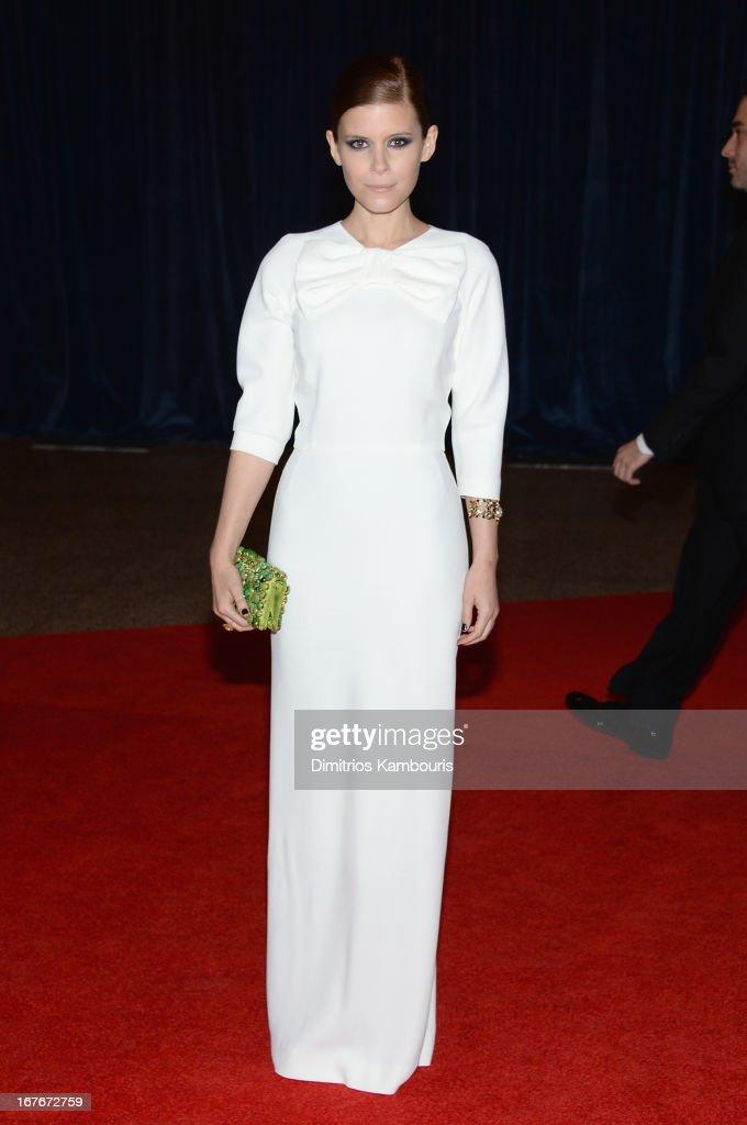 Actress Kate Mara attends the White House Correspondents' Association Dinner at the Washington Hilton on April 27, 2013 in Washington, DC.