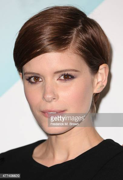 Actress Kate Mara attends the Women in Film 2015 Crystal Lucy Awards at the Hyatt Regency Century Plaza Hotel on June 16 2015 in Los Angeles...