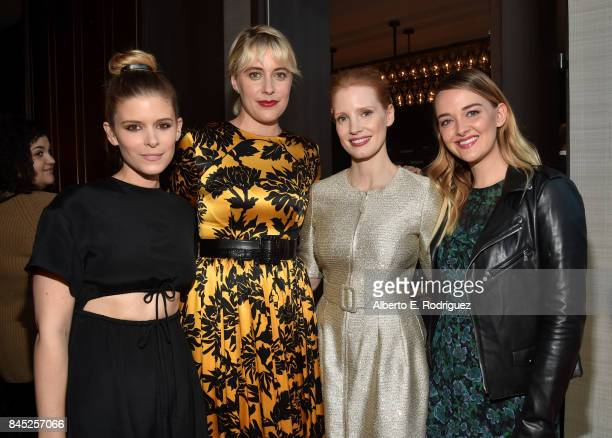 Actress Kate Mara Director Greta Gerwig actresses Jessica Chastain and Jess Weixler attend Entertainment Weekly's Must List Party during the Toronto...