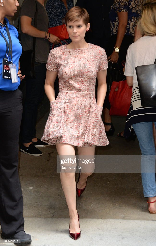 Actress Kate Mara is seen walking in Soho on August 4 2015 in New York City