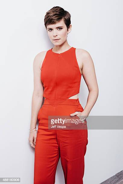Actress Kate Mara of 'The Martian' poses for a portrait at the 2015 Toronto Film Festival at the TIFF Bell Lightbox on September 11 2015 in Toronto...