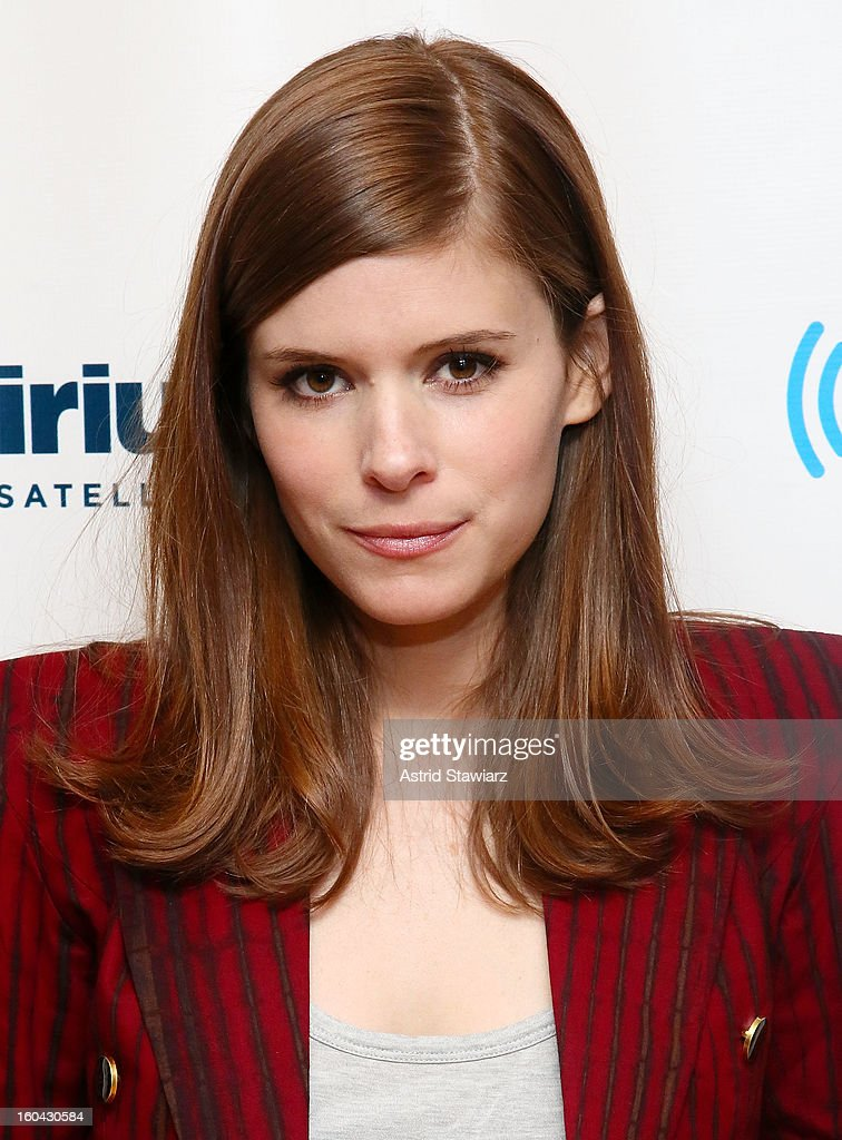 Actress Kate Mara visits the SiriusXM Studios on January 31, 2013 in New York City.