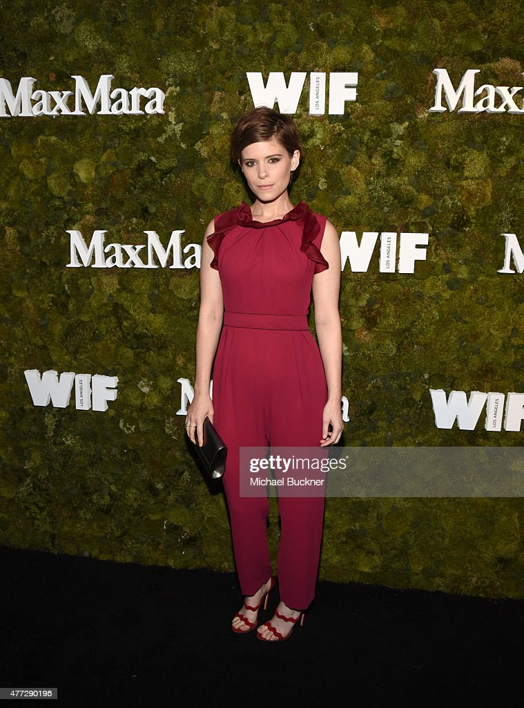 Actress <a gi-track='captionPersonalityLinkClicked' href=/galleries/search?phrase=Kate+Mara&family=editorial&specificpeople=544680 ng-click='$event.stopPropagation()'>Kate Mara</a>, wearing Max Mara, attends The Max Mara 2015 Women In Film Face Of The Future event at Chateau Marmont on June 15, 2015 in West Hollywood, California.