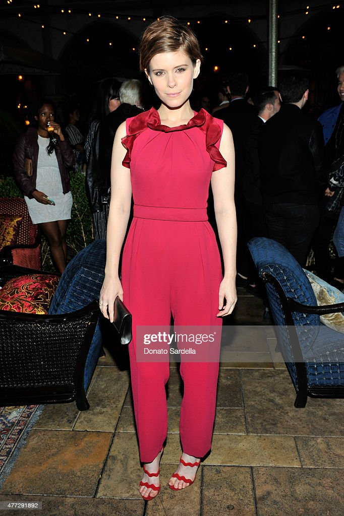 Actress Kate Mara wearing Max Mara attends The Max Mara 2015 Women In Film Face Of The Future event at Chateau Marmont on June 15 2015 in West...