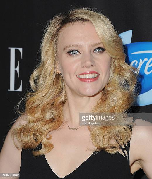 Actress Kate McKinnon arrives at ELLE Hosts Women In Comedy Event With July Cover Stars Leslie Jones Melissa McCarthy Kate McKinnon And Kristen Wiig...
