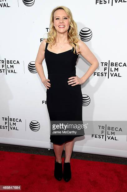 Actress Kate McKinnon attends Opening Night Live From New York during the 2015 Tribeca Film Festival at the Beacon Theatre on April 15 2015 in New...