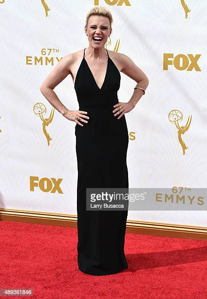 Actress Kate McKinnon attends the 67th Annual Primetime Emmy Awards at Microsoft Theater on September 20 2015 in Los Angeles California