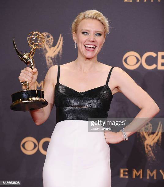 Actress Kate McKinnon attends the 69th annual Primetime Emmy Awards at Microsoft Theater on September 17 2017 in Los Angeles California