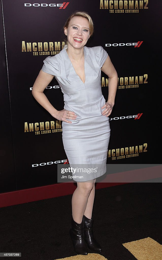 Actress Kate McKinnon attends the 'Anchorman 2: The Legend Continues' U.S. premiere at Beacon Theatre on December 15, 2013 in New York City.