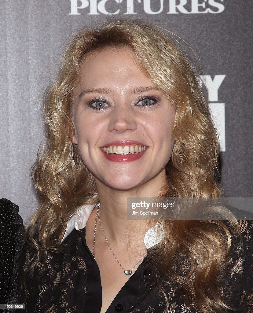 Actress Kate McKinnon attends the DreamWorks Pictures and The Cinema Society screening of 'Delivery Man' at Paley Center For Media on November 17, 2013 in New York City.