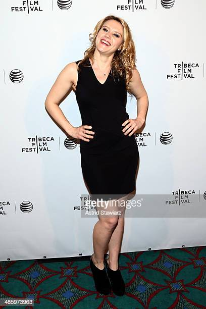 Actress Kate McKinnon attends the 'Intramural' Premiere during the 2014 Tribeca Film Festival at AMC Loews Village 7 on April 21 2014 in New York City