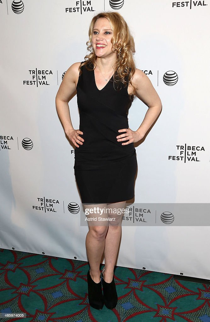 Actress <a gi-track='captionPersonalityLinkClicked' href=/galleries/search?phrase=Kate+McKinnon&family=editorial&specificpeople=5615821 ng-click='$event.stopPropagation()'>Kate McKinnon</a> attends the 'Intramural' Premiere during the 2014 Tribeca Film Festival at AMC Loews Village 7 on April 21, 2014 in New York City.