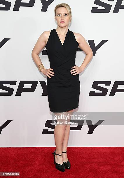 Actress Kate McKinnon attends the New York premiere 'Spy' at AMC Loews Lincoln Square on June 1 2015 in New York City