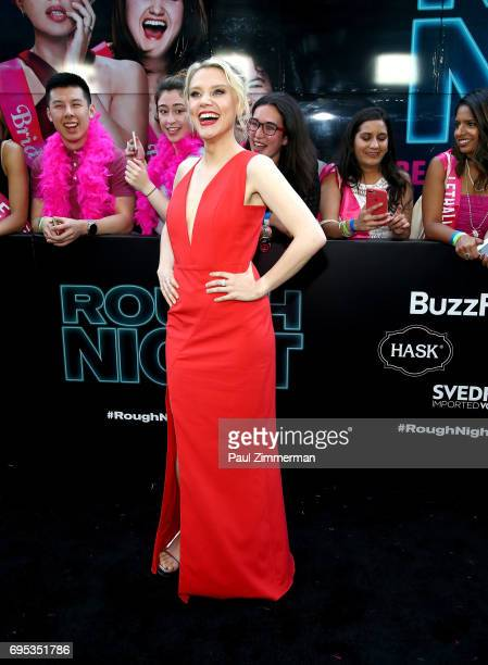 Actress Kate McKinnon attends the 'Rough Night' New York Premiere on June 12 2017 in New York City