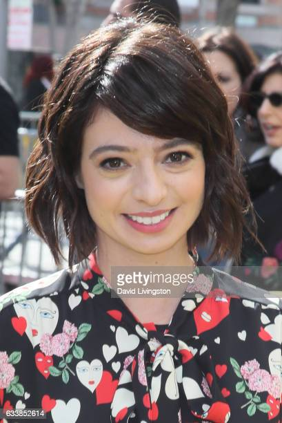 Actress Kate Micucci attends the Premiere of Warner Bros Pictures' 'The LEGO Batman Movie' at the Regency Village Theatre on February 4 2017 in...