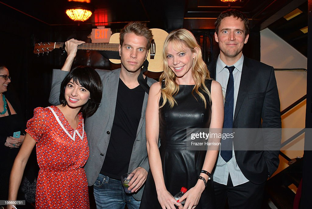 Actress Kate Micucci, Comedian Anthony Jeselnik, Actress Riki Lindhome, and Actor Owen Benjamin attend Variety's 3rd annual Power of Comedy event presented by Bing benefiting the Noreen Fraser Foundation held at Avalon on November 17, 2012 in Hollywood, California.