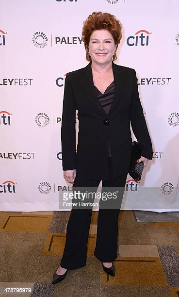 Actress Kate Mulgrew arrives at The Paley Center For Media's PaleyFest 2014 Honoring 'Orange Is The New Black' at Dolby Theatre on March 14 2014 in...