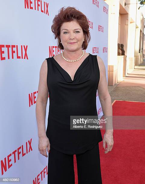 Actress Kate Mulgrew attends Netflix's Academy Panel 'Women Ruling TV' at Leonard H Goldenson Theatre on June 5 2014 in North Hollywood California