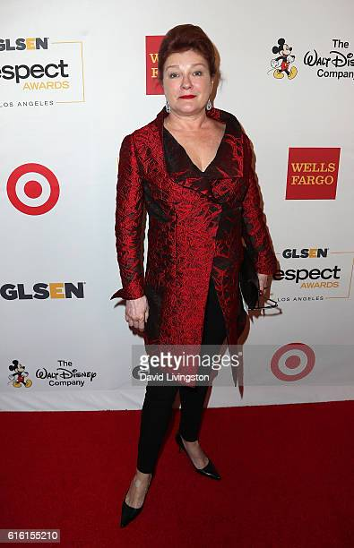 Actress Kate Mulgrew attends the 2016 GLSEN Respect Awards at the Beverly Wilshire Four Seasons Hotel on October 21 2016 in Beverly Hills California