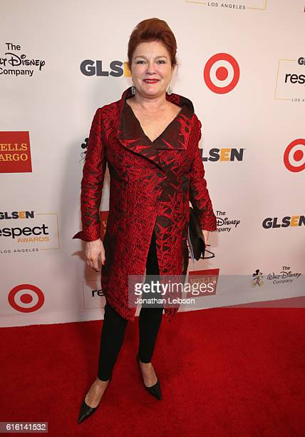Actress Kate Mulgrew attends the 2016 GLSEN Respect Awards Los Angeles at the Beverly Wilshire Four Seasons Hotel on October 21 2016 in Beverly Hills...