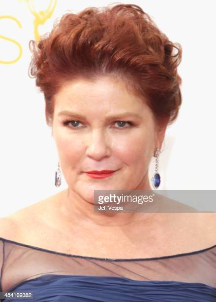 Actress Kate Mulgrew attends the 66th Annual Primetime Emmy Awards held at Nokia Theatre LA Live on August 25 2014 in Los Angeles California