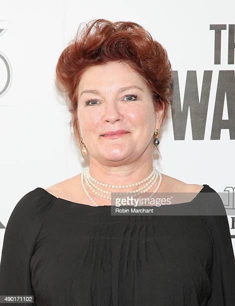 Actress Kate Mulgrew attends the Opening Night Gala Presentation and 'The Walk' World Premiere during 53rd New York Film Festival at Alice Tully Hall...