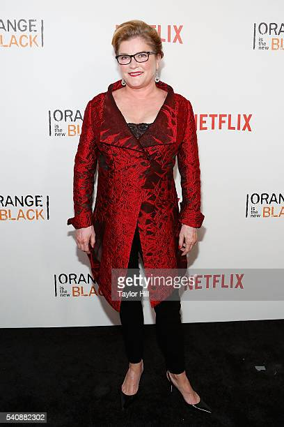 Actress Kate Mulgrew attends the premiere of 'Orange is the New Black' at SVA Theater on June 16 2016 in New York City