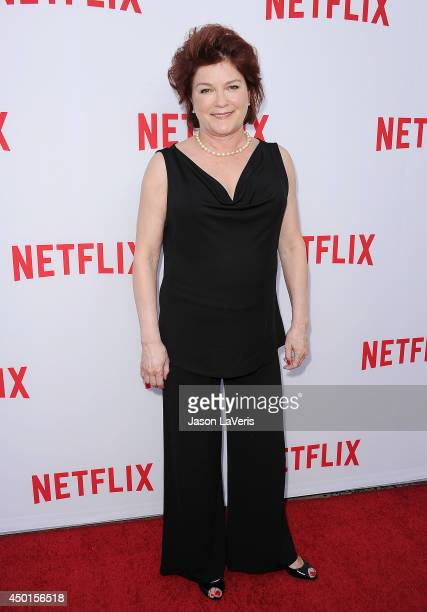Actress Kate Mulgrew attends the 'Women Ruling TV' panel at Leonard H Goldenson Theatre on June 5 2014 in North Hollywood California