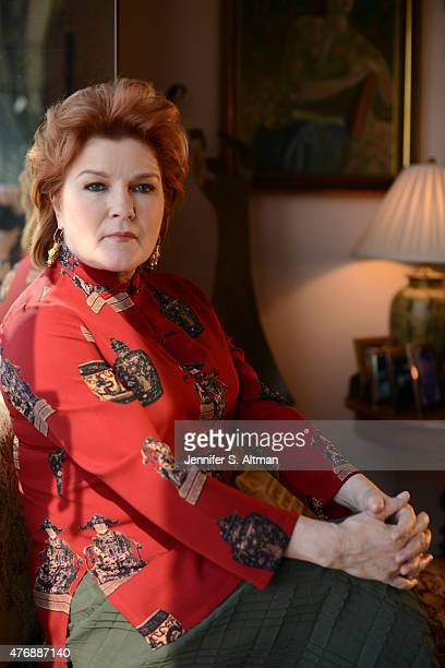 Actress Kate Mulgrew is photographed for Los Angeles Times on April 2 2015 in New York City
