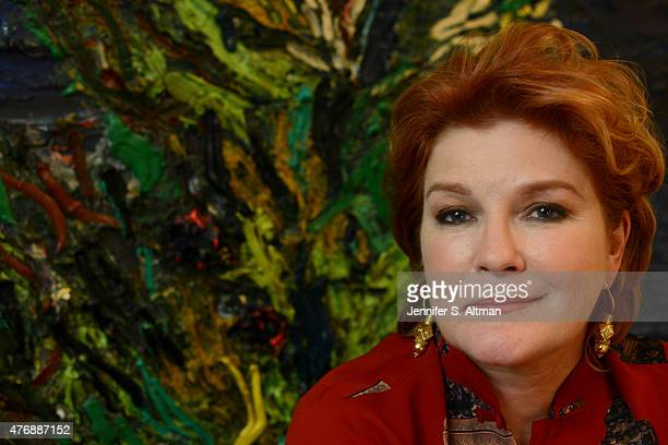 Actress Kate Mulgrew is photographed for Los Angeles Times on April 2 2015 in New York City PUBLISHED IMAGE