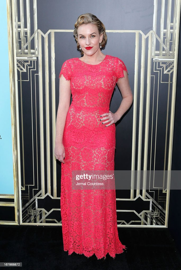 Actress <a gi-track='captionPersonalityLinkClicked' href=/galleries/search?phrase=Kate+Mulvany&family=editorial&specificpeople=2346434 ng-click='$event.stopPropagation()'>Kate Mulvany</a> attends the 'The Great Gatsby' world premiere at Avery Fisher Hall at Lincoln Center for the Performing Arts on May 1, 2013 in New York City.