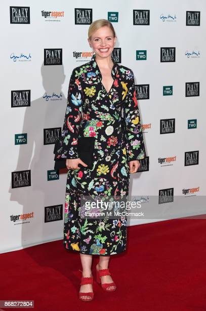 Actress Kate Phillips attends the Birmingham Premiere of Peaky Blinders at cineworld on October 30 2017 in Birmingham England
