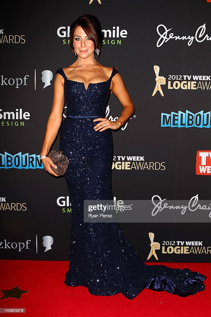 Actress Kate Richie arrives at the 2012 Logie Awards at the Crown Palladium on April 15, 2012 in Melbourne, Australia.
