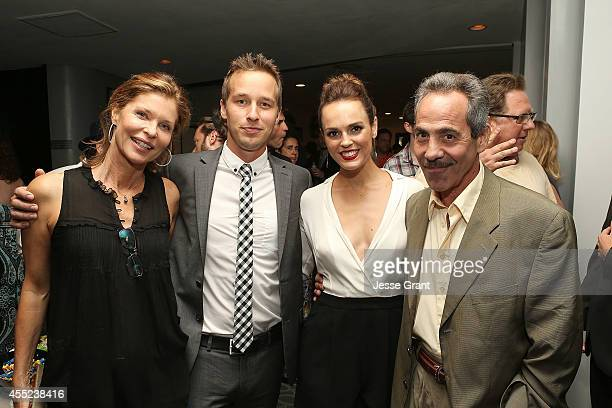 Actress Kate Vernon actor Ryan Carlberg actress Erin Cahill and Larry Thomas attend the '108 Stitches' Screening Party Screening Party held at...