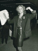 Actress Kate Vernon attending the premiere of 'The Last Dragon' on March 21 1985 at the Plitt Theater in Century City California