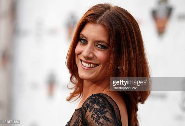 Actress Kate Walsh arrives at Comedy Central's Roast of Charlie Sheen held at Sony Studios on September 10 2011 in Los Angeles California