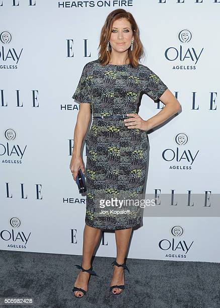 Actress Kate Walsh arrives at ELLE's 6th Annual Women In Television Dinner at Sunset Tower Hotel on January 20 2016 in West Hollywood California