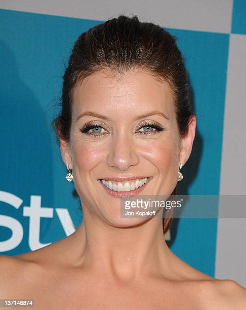 Actress Kate Walsh arrives at the 13th Annual Warner Bros And InStyle Golden Globe After Party held at The Beverly Hilton hotel on January 15 2012 in...