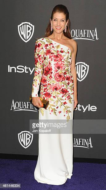 Actress Kate Walsh arrives at the 16th Annual Warner Bros And InStyle PostGolden Globe Party at The Beverly Hilton Hotel on January 11 2015 in...