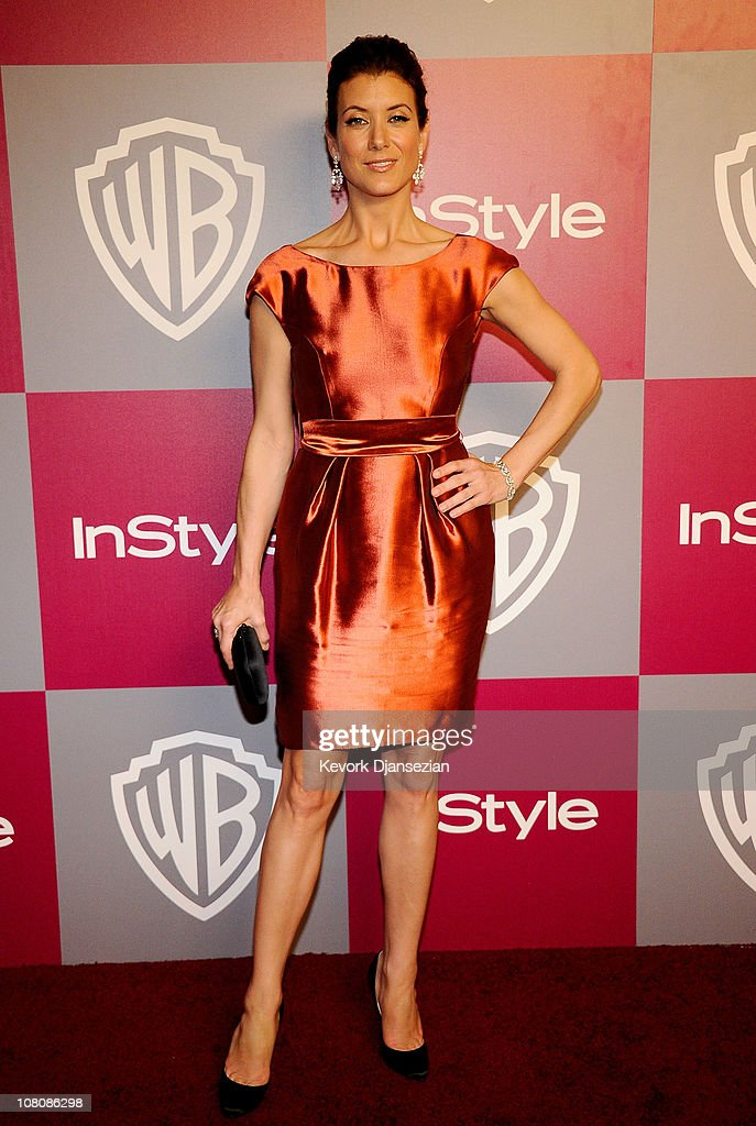 Actress Kate Walsh arrives at the 2011 InStyle And Warner Bros. 68th Annual Golden Globe Awards post-party held at The Beverly Hilton hotel on January 16, 2011 in Beverly Hills, California.
