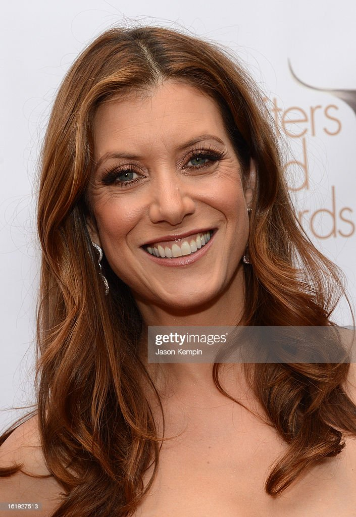 Actress Kate Walsh arrives at the 2013 WGAw Writers Guild Awards at JW Marriott Los Angeles at L.A. LIVE on February 17, 2013 in Los Angeles, California.