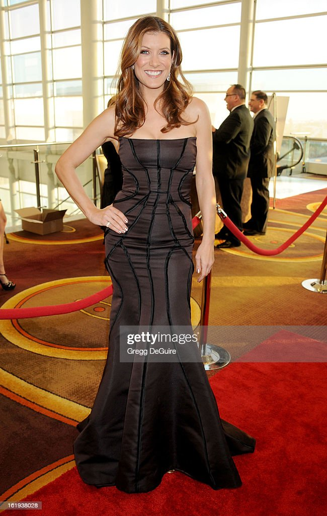 Actress Kate Walsh arrives at the 2013 Writers Guild Awards at JW Marriott Los Angeles at L.A. LIVE on February 17, 2013 in Los Angeles, California.