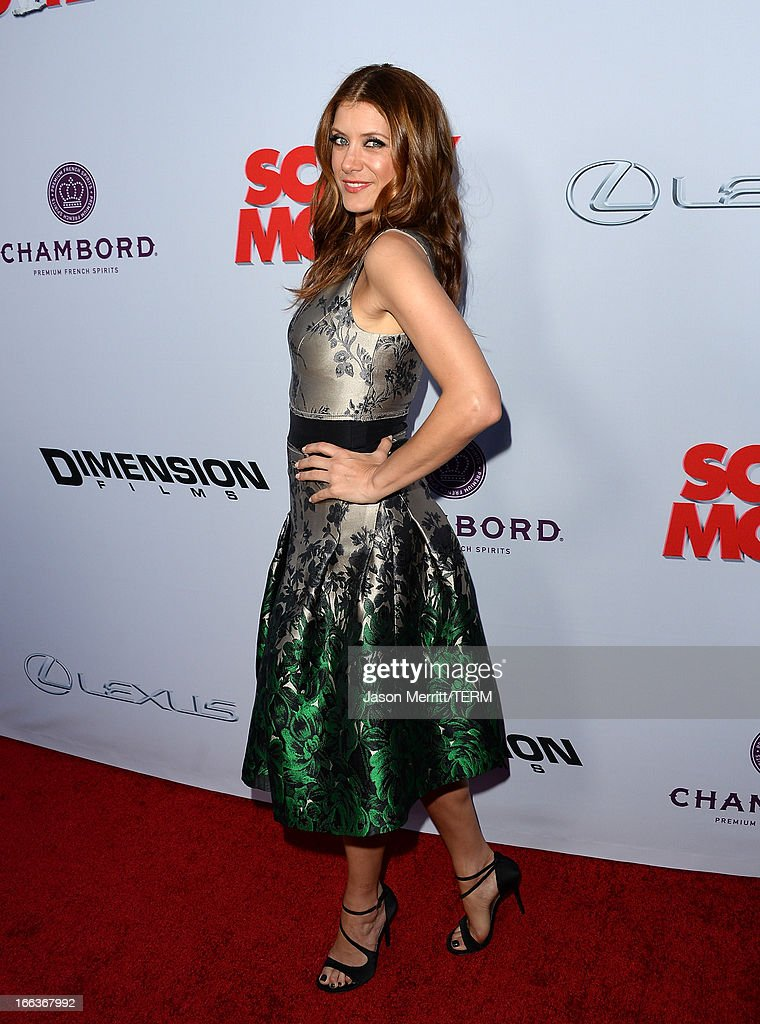 Actress Kate Walsh arrives at the Dimension Films' 'Scary Movie 5' premiere at the ArcLight Cinemas Cinerama Dome on April 11, 2013 in Hollywood, California.