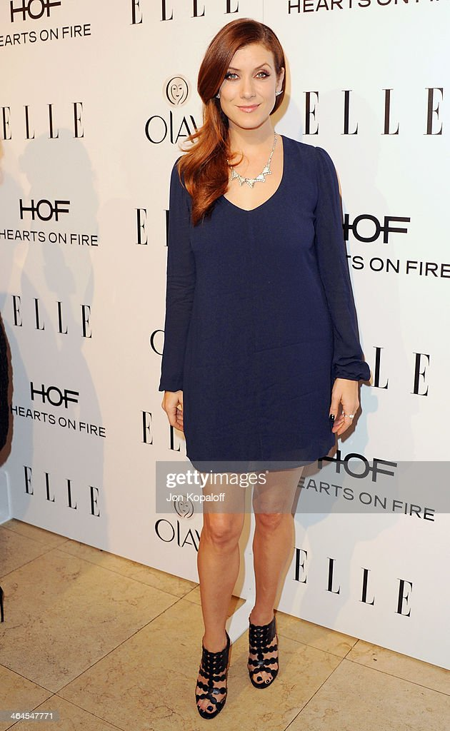 Actress Kate Walsh arrives at the ELLE Women In Television Celebration at Sunset Tower on January 22, 2014 in West Hollywood, California.