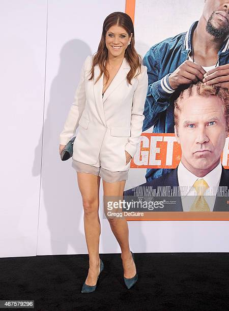Actress Kate Walsh arrives at the Los Angeles premiere of 'Get Hard' at TCL Chinese Theatre IMAX on March 25 2015 in Hollywood California
