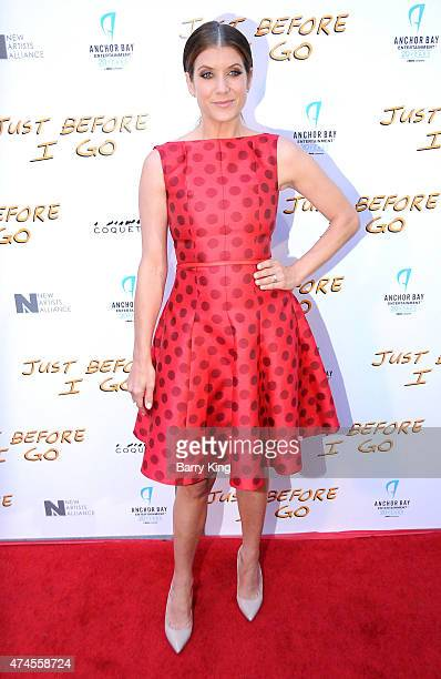 Actress Kate Walsh arrives at the Los Angeles Special Screening of 'Just Before I Go' at ArcLight Hollywood on April 20 2015 in Hollywood California