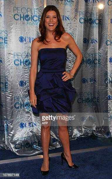Actress Kate Walsh arrives at the People's Choice Awards in Los Angeles California on January 5 2011 AFP PHOTO/VALERIE MACON