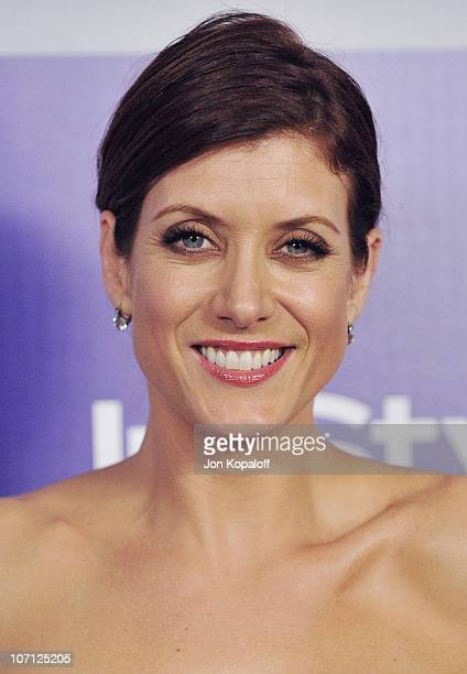 Actress Kate Walsh arrives at the Warner Brothers/InStyle Golden Globes After Party at The Beverly Hilton Hotel on January 17 2010 in Beverly Hills...
